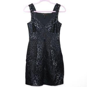 BCBGMaxAzria | Fitted Leopard Cocktail Dress